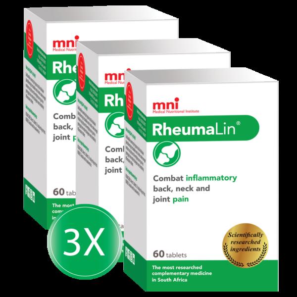 RheumaLin combats inflammatory back, neck and joint pain